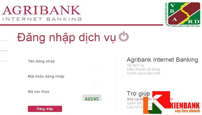 Kiểm tra số dư tài khoản Agribank