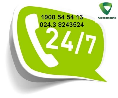 Hotline vietcombank 24 24