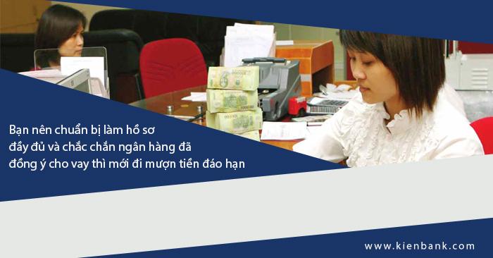 Phí đáo hạn ngân hàng vay theo lương