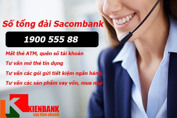 Số điện thoại tổng đài Sacombank. Tư vấn cả ngày Nghỉ, Lễ, Tết.