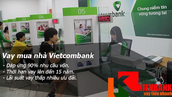 Vay mua nhà Vietcombank thủ tục đơn giản