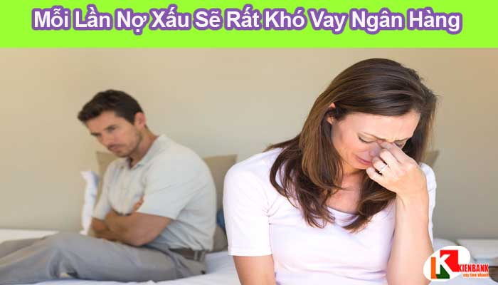 Vậy chồng bị nợ xấu thì vợ có vay ngân hàng được không?
